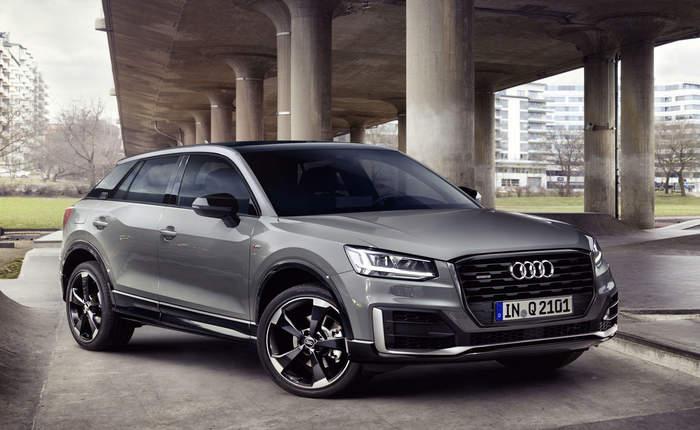 Audi q2 front view